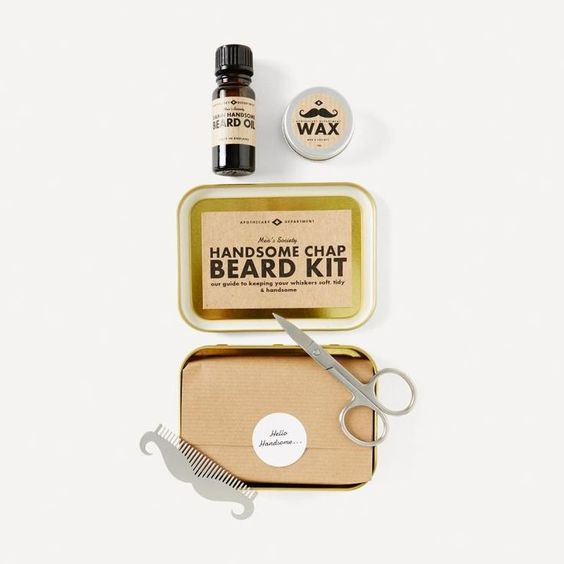 A perfect gift for the true gentleman to care for his beard, this beard grooming kit from Men's Society features everything you could ever need. Cleanse your beard with the beard oil made from age-old formula rich in vitamins and minerals to moisturise ir