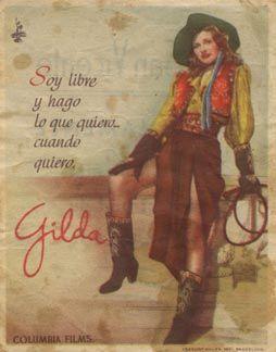 Posteritati: GILDA 1946 Spanish Herald (3 X 4)