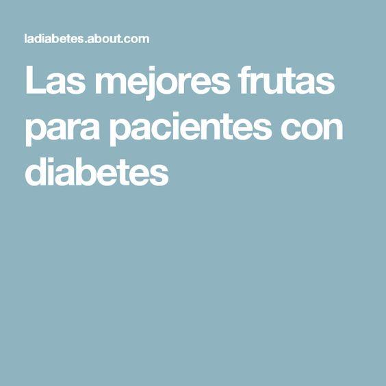 Las mejores frutas para pacientes con diabetes