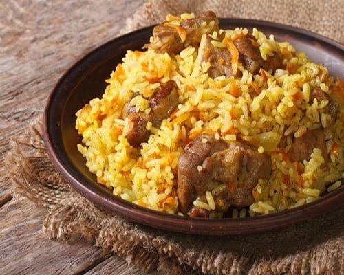 طريقة عمل رز باللحم لذيذ موقع طبخة Food Pilaf Meat Dishes