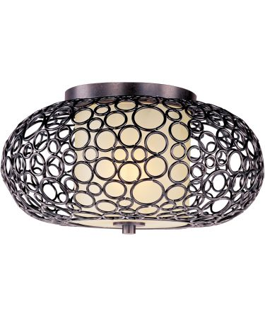 Maxim Lighting 21340 Meridian 17 Inch Flush Mount