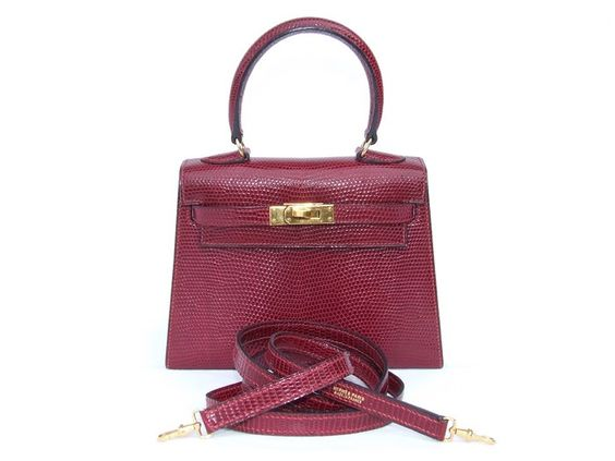 best replica hermes evelyne bag - Hermes Mini Kelly 20 Handbag 3 Ways Rouge H Lizard Ghw | MALLERIES ...