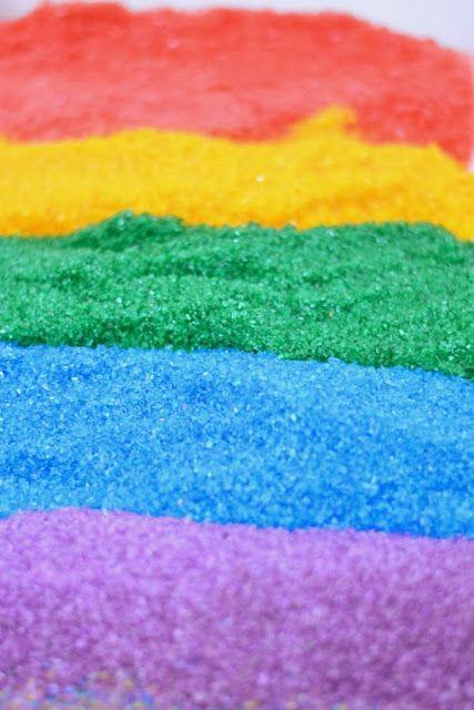 Haga su arena Propia tan Fácil y Mucho Más barato de Me tienda Compro Cosas de color!