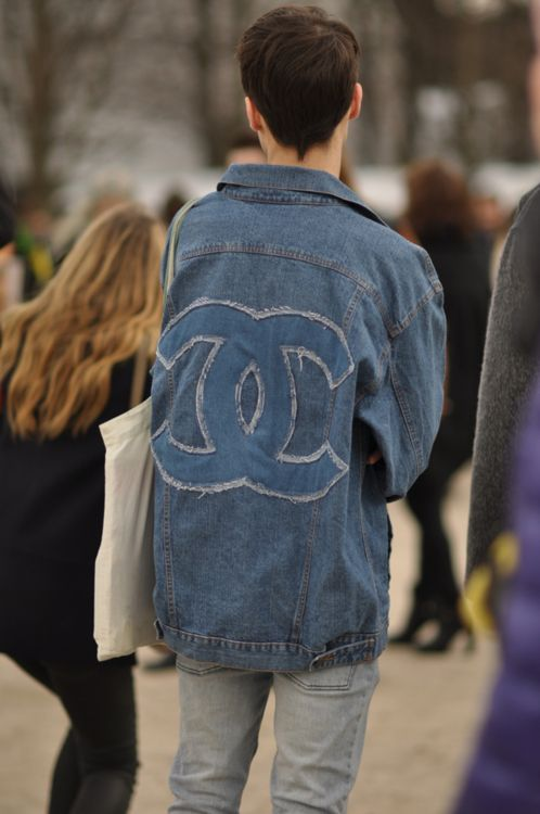 Chanel does denim.