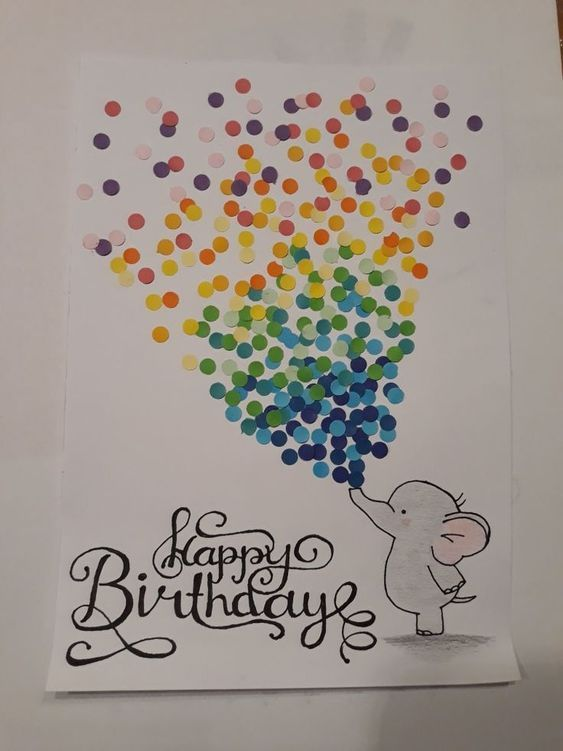 Happy Friday We Are Ramping Up Birthday Season In Our Family With Lots Of Spring Birthday Card Drawing Watercolor Birthday Cards Happy Birthday Cards Diy