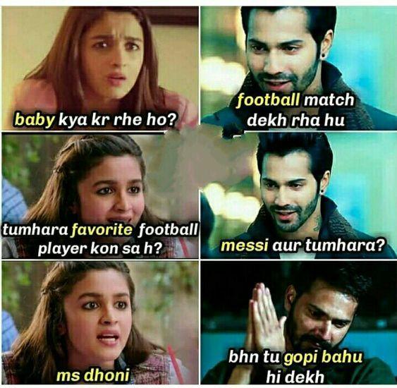 Download Varun Dhawan Funny Memes Alia Bhatt Funny Memes Images Bollywood Funny Jokes Image Funny Joke Quote Funny Jokes In Hindi Latest Funny Jokes
