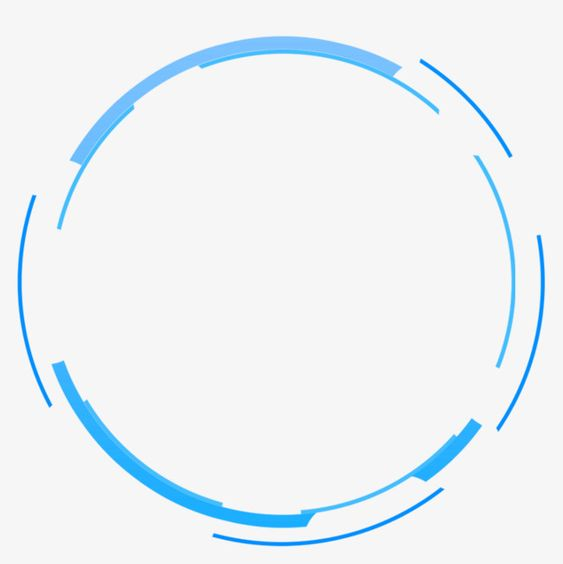Blue Simple Circle Border Texture Png And Clipart Circle Graphic Design Circle Logo Design Circle Borders