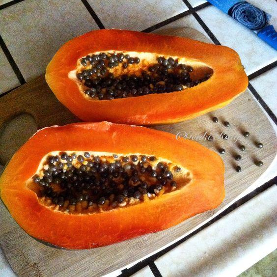 What does papaya look like