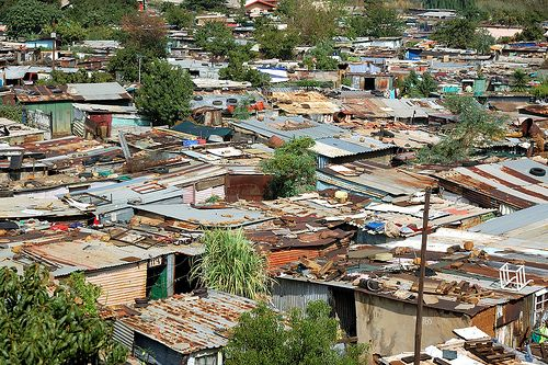 The township of Soweto, South Africa.  We spent time here visiting with a colleague from my office.
