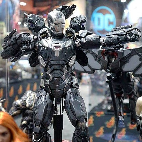The New The Avengers Infinity War Hot Toys War Machine Mk Vi Is A Thing Of Beauty Not Available To Ord War Machine Iron Man Fan Art Avengers Infinity War