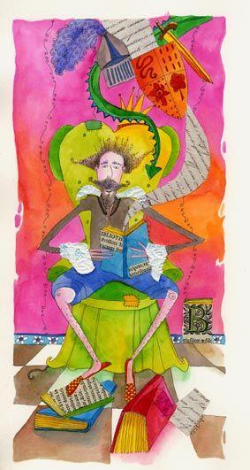 Ilustración-Don-Quijote-de-Daniela-Violi