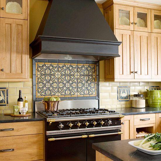 Kitchen Backsplash Ideas Tile Backsplash Ideas Stove Craftsman And Kitchen Cabinetry
