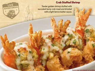 Outback's Crab Stuffed Shrimp...these are sooo good :)