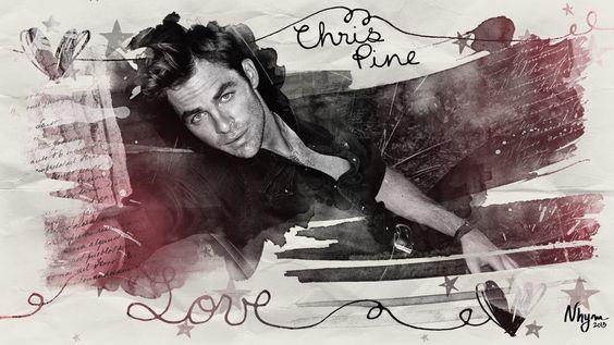 Chris Pine. Love happens.
