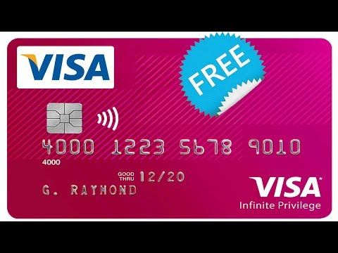 How To Get A Free Visa Card Without Any Bank Account International Visa Card Hdfc Payzapp Youtube Free Visa Card Visa Card Numbers Visa Card