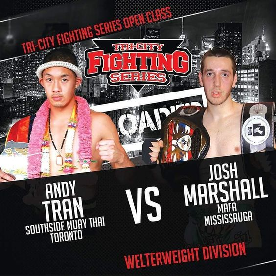 We are happy to announce @andezy is back in action! Catch him and other southside #atheletes on September 30th competing for the #tricityfightingseries open class welterweight interim belt. Tickets are now available at the front desk. Get your #tickets now! #southsidemuaythaiacademy #forceofateam #muaythai #titlefight #champion #nakmuay #scarborough  #toronto #canadian #athelete #mainevent