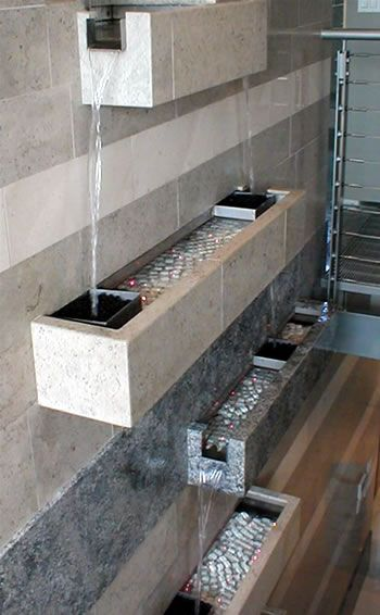 indoor wall fountain to keep the air from getting too dry in the winter