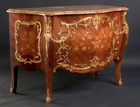 Louis XV Chest   French Antique Shop