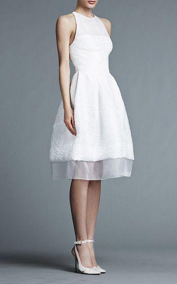 J. Mendel Bridal Look 2 on Moda Operandi: