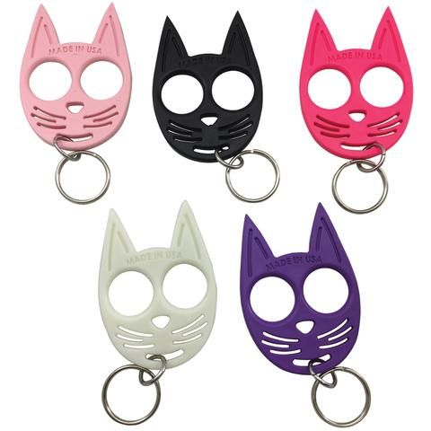 My Kitty Plastic Self Defense Keychain Weapon Black With Images