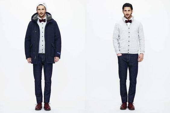Woolrich John Rich & Bros. Autumn/Winter 2015 Men's Lookbook | FashionBeans.com
