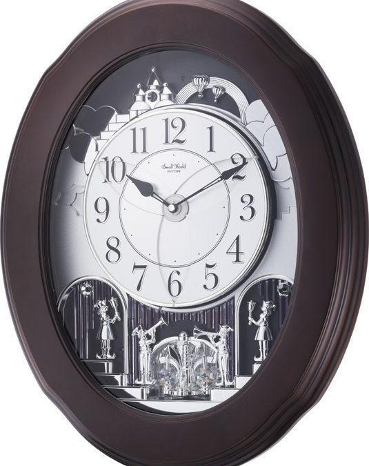 Rhythm Magic Motion Nostalgia Espresso Wall Clock In 2020 Clock Wall Clock Rhythms