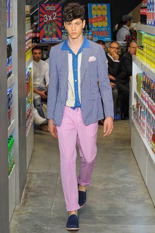 Shirt and pantalon from Moschino