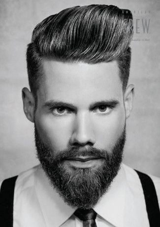 Magnificent Gentleman Beards And Men Hair On Pinterest Short Hairstyles Gunalazisus