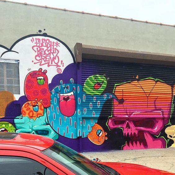 @tozfbc & @brfbc quebrando tudo noo Bronx hj ! Berço do graffiti junto com a lenda @dazeworldnyc com curadoria  @tagpublicartsproject 👊🏼💥