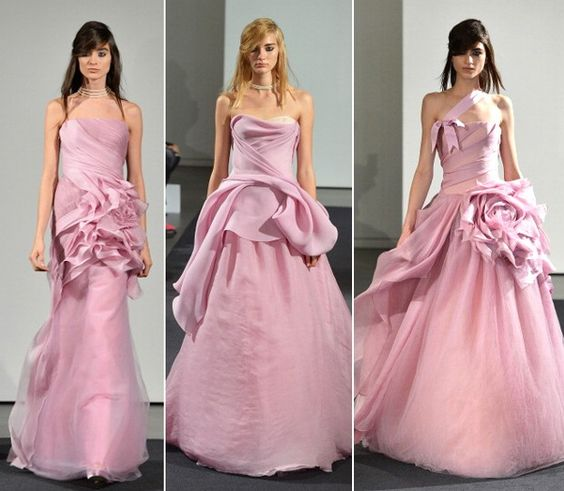Vera Wang Bridal, inverno 2014 (Foto: Getty Images)