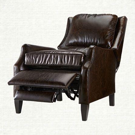 Alex Leather Vintage Recliner $2099