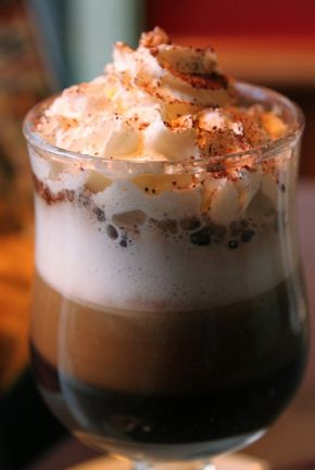 Cocoa, Hot chocolate and Schnapps on Pinterest