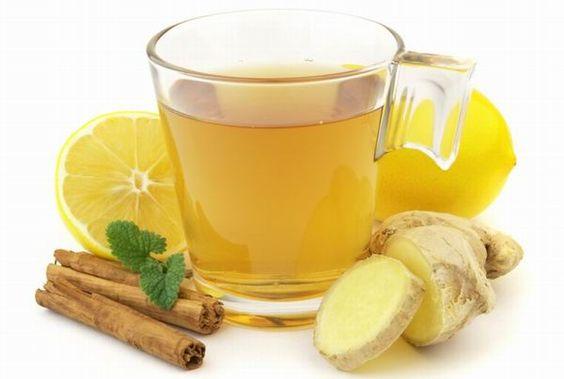 mézes,gyömbéres forró limonádé