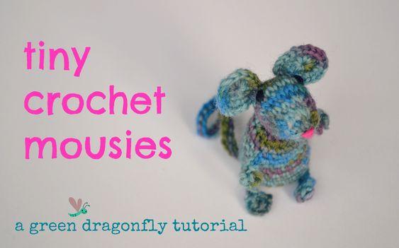 Crochet mouse - kleine Maus - kostenlose Anleitung