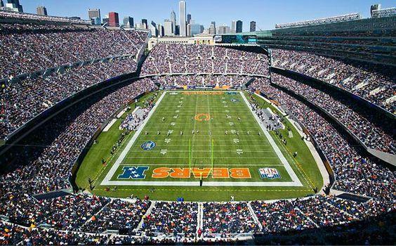 Image result for chicago bears stadium