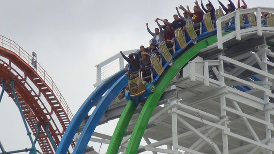 Twisted Colossus (Off-Ride) Six Flags Magic Mountain