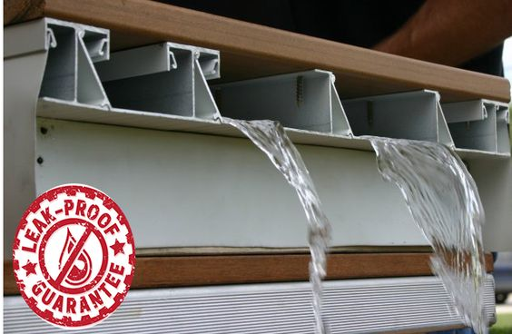 DryJoistEZ's structural design creates a 100% waterproof area below your deck and is backed by our leak-proof guarantee!   Learn more about DryJoistEZ and its many benefits: http://www.wahoodecks.com/dryjoistez/