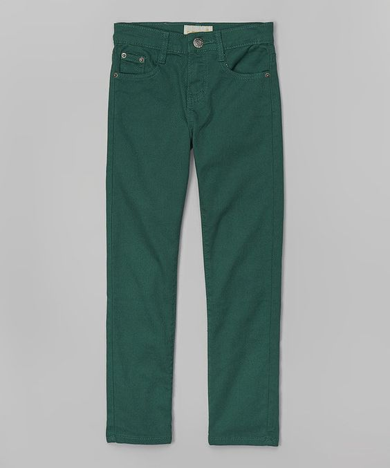 Look at this Daniel L Grass Green Pants - Boys on #zulily today!