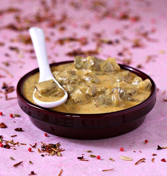 Curry d'agneau au lait de coco - les meilleures recettes de cuisine d'Ôdélices