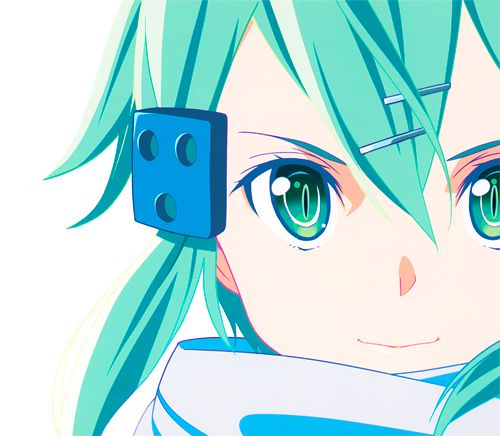 """Sinon from """"Sword Art Online Season 2"""". To be honest, I was disappointed after hearing her voice....it didn't match what I expected. :/ but she is a typical character that has a bit a dark past and is really trying to overcome her fears of guns. I guess that's really respectable from her.(SYL)"""