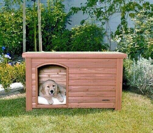 Precision Pet Dog House Outback Log Cabin Small Logcab S Precisionpet Log Cabin Dog House Dog House Large Dog House