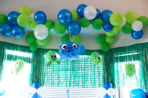 Under the Sea theme party