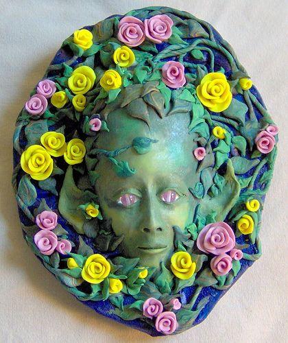 Elf Rose Face | by JanePriserArts