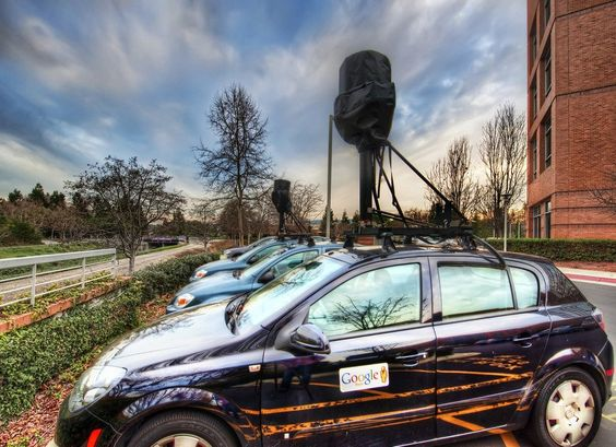 The totally awesome and very cool #Google #streetview cars. from #treyratcliff at http://www.StuckInCustoms.com - all images Creative Commons Noncommercial