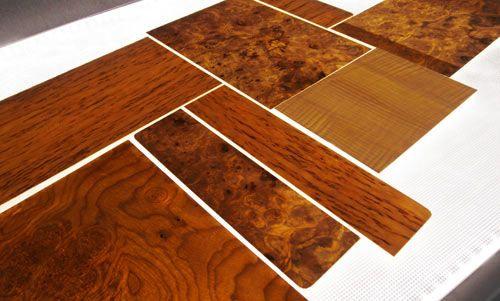 Translucent Wood Veneer Panels Backlit With Led Lighting