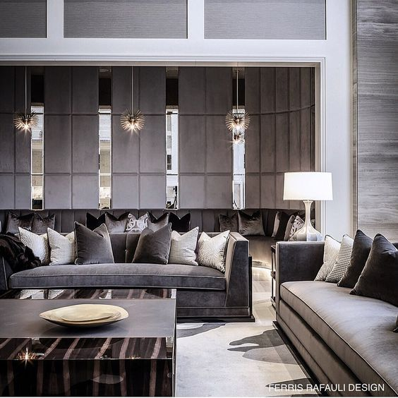 How To Make Your Living Room Look More Glamorous And Luxurious Modern Classic Living Room Interior Design Living Room Modern Interior Design Living Room