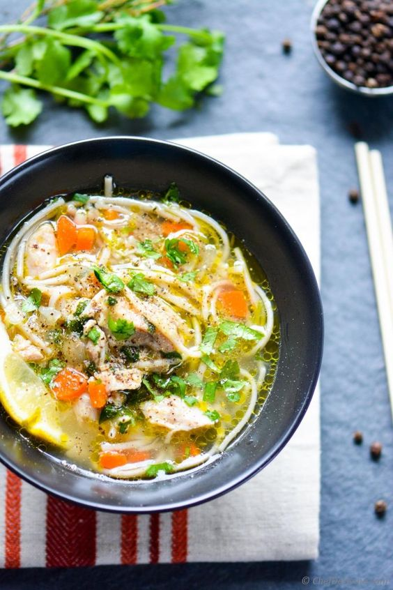 dry chicken noodle soup recipe