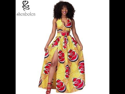Explosion Models Dress 2018 Eight-Point Sleeve Printed Dress