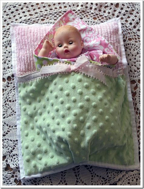 I do this for my daughter. She loves having entire special outfits and bedding for her babies. Yesterday at Hobby Lobby they had Clearance Fabric for kids at 3 bucks a yard and you can find patterns on sale if you are patient! Get an easy one by McCalls or Simplicity!