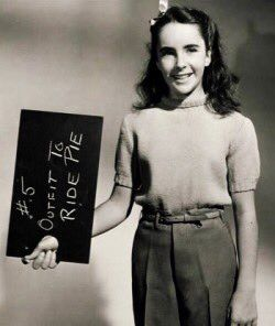 Elizabeth Taylor For The Movie National Velvet 1945 Young Elizabeth Taylor Elizabeth Taylor Taylor